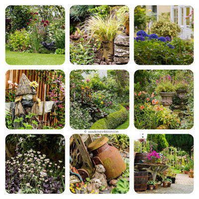 this is a collage of images from Parkhead gardens perth
